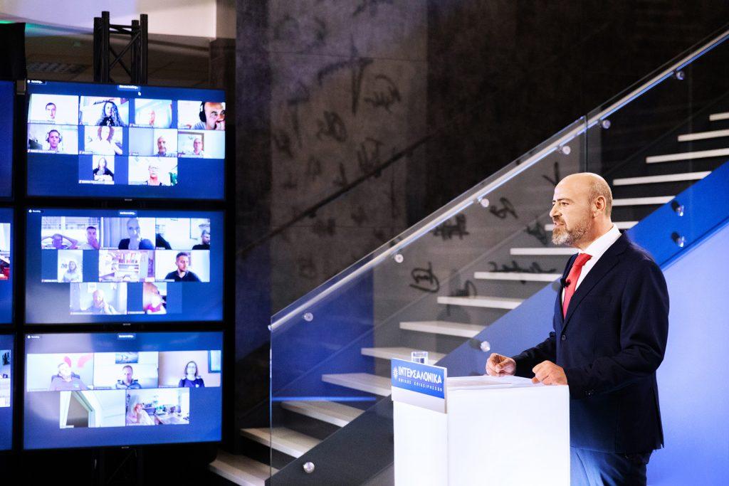 Μίλτος Πυρίντσης, Διευθυντής της ΙΝΤΕΡΣΑΛΟΝΙΚΑ Α.Α.Ε. ΖΩΗΣ